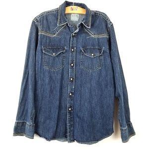 Ariat {Western Denim Jacket Top} Large